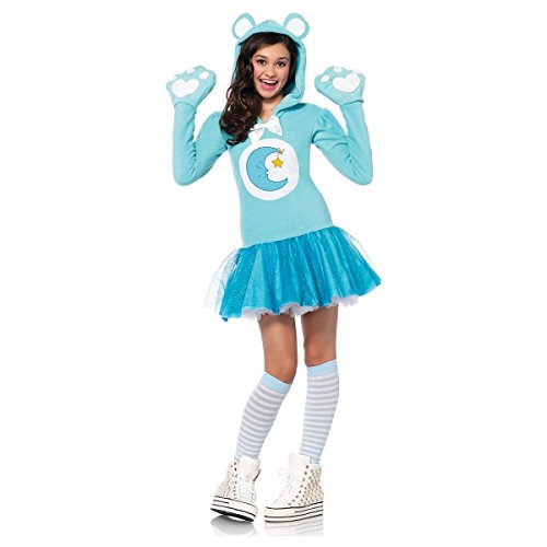 GSG Care Bear Costume Teen Girls Halloween Fancy Dress (Adult Care Bears Cheer Bear Costume)