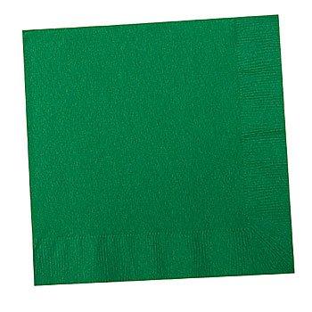 Festive Green Beverage Napkins 50ct - 1