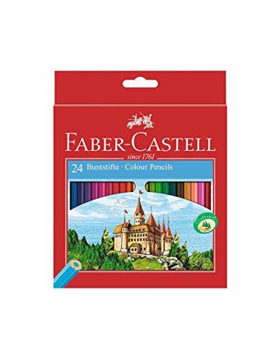 faber castell castle etui de 24 crayons de couleur. Black Bedroom Furniture Sets. Home Design Ideas