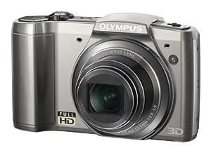 Olympus SZ-20 Digitalkamera (16 Megapixel, 12,5-fach opt. Zoom, 7,6 cm (3 Zoll) Display, bildstabilisiert) silber
