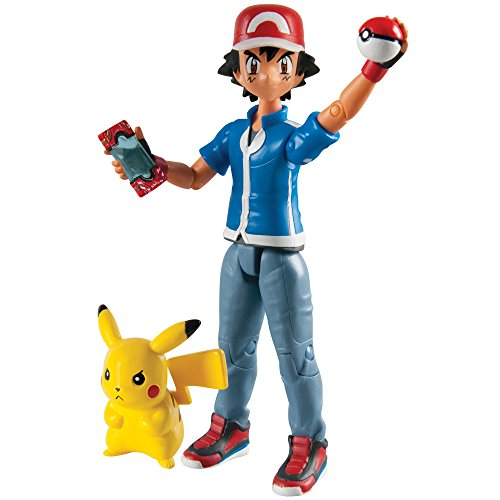 Tomy Pokemon - T18516 - Action Figure Pacchetto - Ash & Pikachu