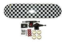 "Moose 7.5"" Checkered Complete Skateboard"