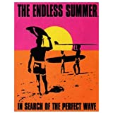 Endless Summer Surfing Movie Sign , 13x16