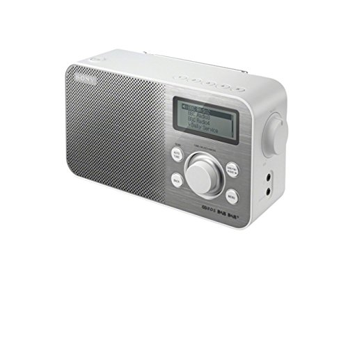 Denver DAB-33 DAB-Radio (FM RDS, Smart-Design Stationstasten) schwarz