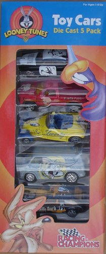 Looney Tune Die Cast Boxed Set Of (5) Cars From Racing Champions By Ertl front-1022015