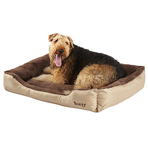 bunty-deluxe-soft-washable-dog-pet-warm-basket-bed-cushion-with-fleece-lining-cream-xxlarge