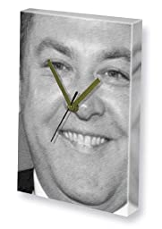 MARK ADDY - Canvas Clock (LARGE A3 - Signed by the Artist) #js001