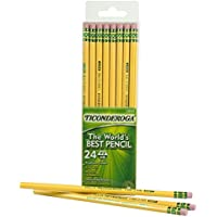 24-Pack Dixon Ticonderoga #2 HB Wood Pencils