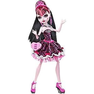 .com: Monster High Sweet 1600 Draculaura Exclusive EU: Toys & Games