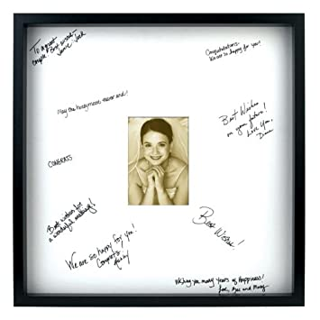 Burnes of Boston 142020 Wedding Signature Picture Frame, White Mat, 20 by 20 Inches