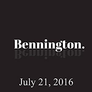 Bennington, Barry Crimmins, July 21, 2016 Radio/TV Program