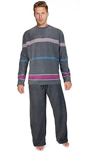 para-hombre-jersey-de-forro-polar-calido-invierno-pj-pijama-juego-de-pijama-de-noche-wear-pj-juegos-