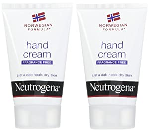 Neutrogena Hand Cream Fragrance Free 2 oz (Pack of 3)