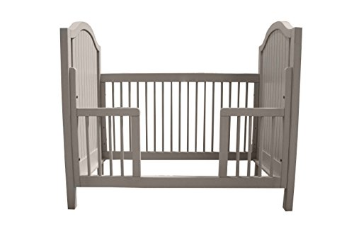 Newport Cottages Toddler Guardrail for Hampton Crib, French Grey