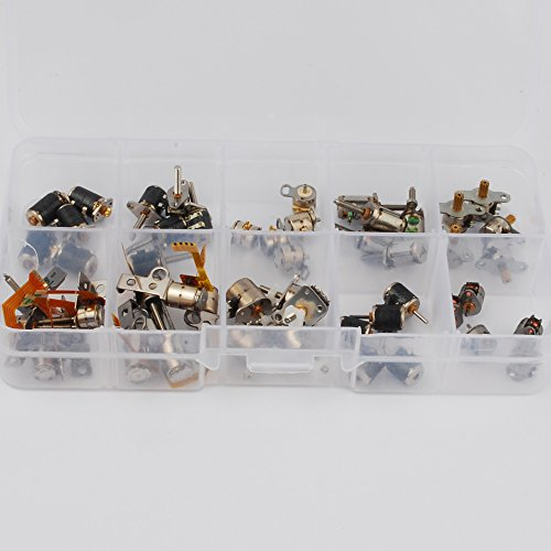 50pcs-totally-5pcs-each-of-10-kinds-2-phase-4-wire-dc-micro-stepper-motor-mini-stepper-motor-assorte