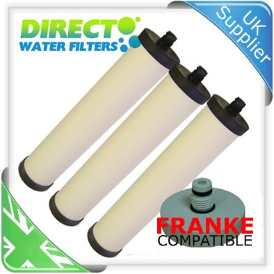 3 Pack Doulton Ultracarb M15 Water Filter Cartridges