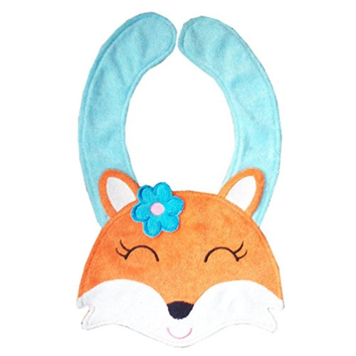 kolylong-baby-kids-infant-lovely-animal-toddler-cartoon-saliva-towel-lunch-bibs-fox