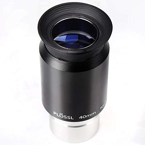 1.25 40mm Plossl Telescope Eyepiece - 4-Element Plossl Design - Threaded for Standard 1.25inch Astronomy Filters (Color: Plossl 40mm)