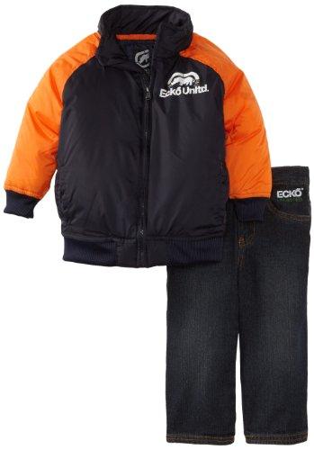Ecko Boys 2-7 Jacket And Jean Set, Navy, 3T