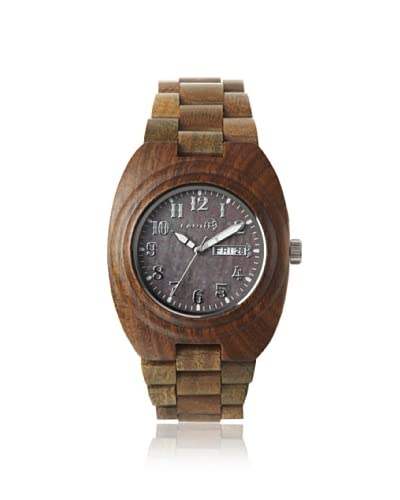 Earth Women's SEDE04 Hilum Olive Wood Watch