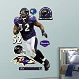 Fathead Ray Lewis Baltimore Ravens Wall Decal