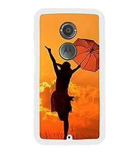 Girl with Umbrella 2D Hard Polycarbonate Designer Back Case Cover for Motorola Moto X2 :: Motorola Moto X (2nd Gen) :: Motorola Moto X 2014 :: Motorola Moto X+1