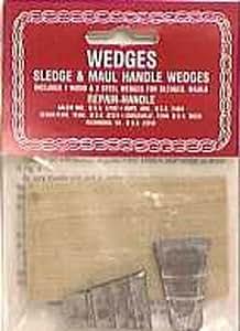 O P Link Hammer Handle Wood & Steel Wedges (04512-00)