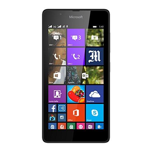 Microsoft-Lumia-540-Smartphone-dbloqu-Ecran-5-pouces-Noir-import-Italie
