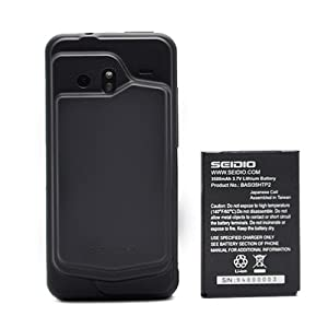 Seidio Innocell 3500 mAh Extended-Life Battery for HTC DROID Incredible (Black)