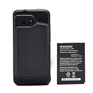 Seidio Innocell 3500 mAh Extended-Life Battery for HTC DROID Incredible - Black