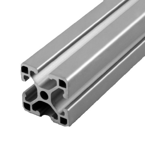 Faztek 15QE1515UL Aluminum 6063-16 T-Slotted Ultra Light Extrusion with Clear Anodize Finish, 97