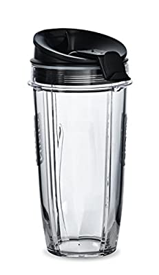 Nutri Ninja Blender 24 oz Cup and Sip N Seal Lid | Auto IQ Duo