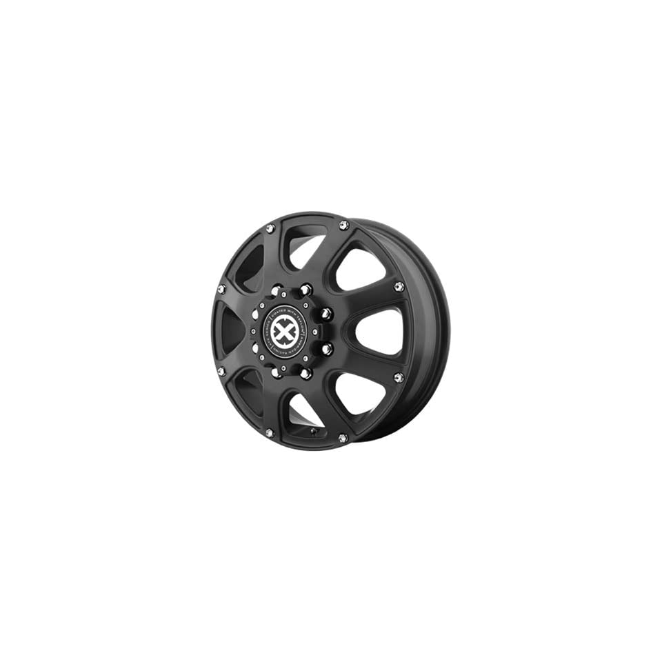 American Racing ATX Ledge 17x6 Teflon Wheel / Rim 8x6.5 with a 111mm Offset and a 125.50 Hub Bore. Partnumber AX18976080699
