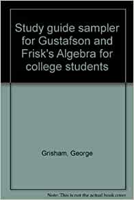 College Algebra gustafson 11th edition pdf
