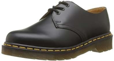Dr. Martens 1461 59, Chaussures montantes adulte - Noir (Black Smooth), 36 EU (3 UK)