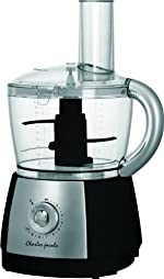 Charles Jacobs 2.5 Litre Powerful Food Processor with 10 Speeds Plus Pulse in Black