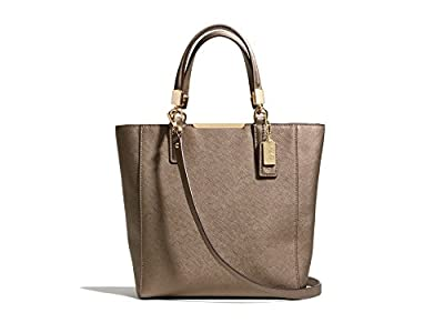 Coach Madison Mini Northsouth Tote In Saffiano Leather
