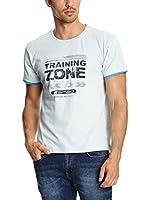 Spaio Camiseta Manga Corta (Blanco)