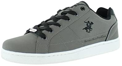 Beverly Hills Polo Club Men's Blow Out Court Sneakers Gray Size 7.5