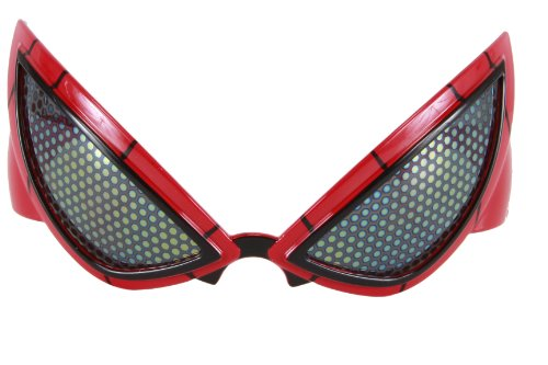 elope Marvel Spider-Man Movie Glasses, Red, One Size