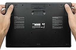 Adesso 2.4 GHz RF Wireless SlimTouch Mini Keyboard with Touchpad (WKB-4000US)