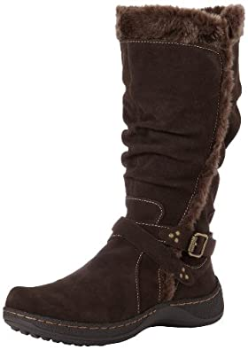 BareTraps Women's Emalyn Snow Boot,Dark Brown,8 M US