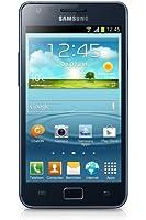 Samsung I9105P Galaxy S II Plus DualCore - Smartphone con Schermo Super AMOLED da 10.9 cm (4.3 Pollici), Fotocamera da 8 Mpixel, video Full-HD, Wi-Fi dual band, NFC, Android 4.1.2, Grigio/Blu [Germania]