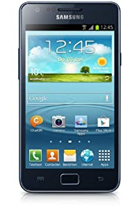 Samsung I9105P Galaxy S II Plus DualCore Smartphone (10,9 cm (4,3 Zoll) Super AMOLED-Display, 8 Megapixel Kamera, Full-HD, WiFi, NFC, Android 4.1) blue-gray