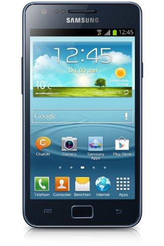Samsung I9105P Galaxy S II Plus (blue-grey) libre, sin branding sin contrato