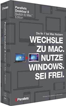 Parallels Desktop Switch to Mac Edition 8.0 Mac