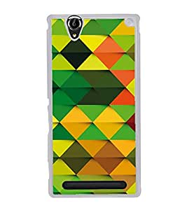 Colourful Pattern 2D Hard Polycarbonate Designer Back Case Cover for Sony Xperia T2 Ultra :: Sony Xperia T2 Ultra Dual SIM D5322 :: Sony Xperia T2 Ultra XM50h
