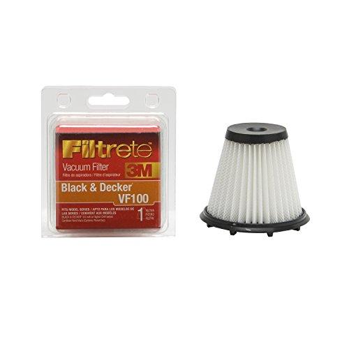 3M Filtrete Black & Decker Vf100 Allergen Vacuum Filter, 1 Pack