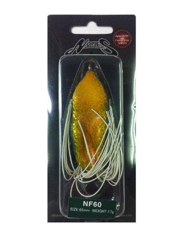 ノリーズ(NORIES) ルアー NF-60 FG10 パロットオレンジ 9619の商品画像