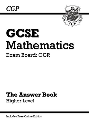 GCSE Maths OCR Answers for Workbook (with Online Edition) -